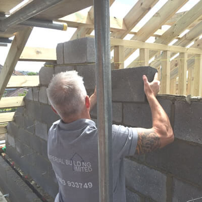 Blockwork / Brickwork / Loft Conversion Project in Cooden Bexhill-on-Sea East Sussex