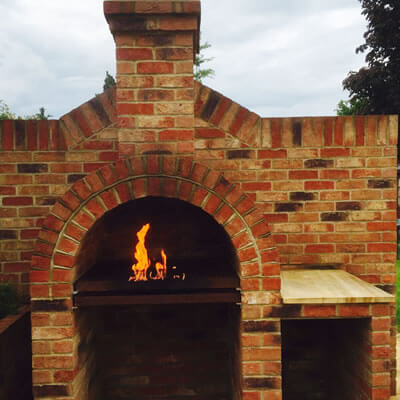 Specialised Brickwork. Barbeque and Garden Cooking Station. Bexhill-on-Sea East Sussex